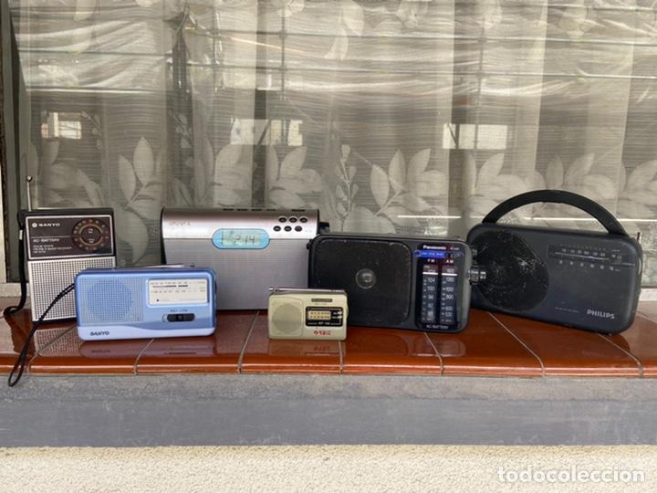 Radios antiguas: LOTE 6 RADIOS (SONY, SANYO, PANASONIC, PHILIPS) - Foto 2 - 203294327