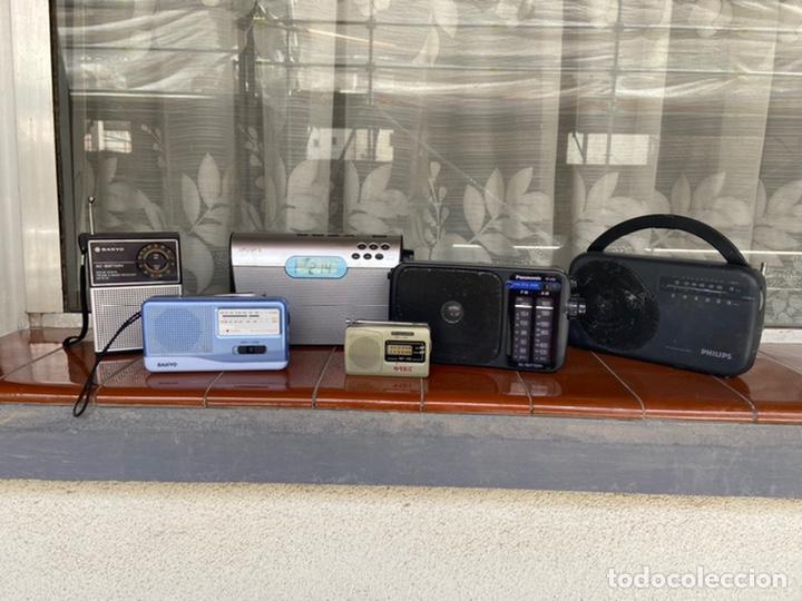 Radios antiguas: LOTE 6 RADIOS (SONY, SANYO, PANASONIC, PHILIPS) - Foto 3 - 203294327