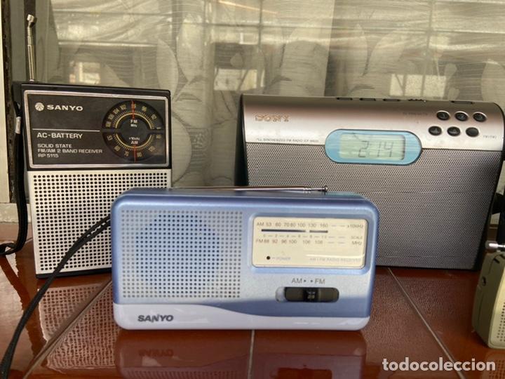 Radios antiguas: LOTE 6 RADIOS (SONY, SANYO, PANASONIC, PHILIPS) - Foto 4 - 203294327