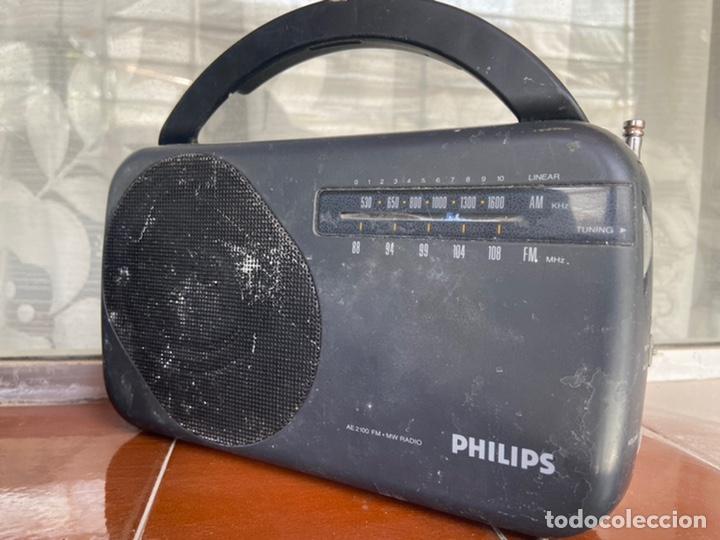 Radios antiguas: LOTE 6 RADIOS (SONY, SANYO, PANASONIC, PHILIPS) - Foto 6 - 203294327