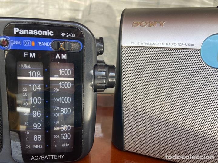 Radios antiguas: LOTE 6 RADIOS (SONY, SANYO, PANASONIC, PHILIPS) - Foto 7 - 203294327