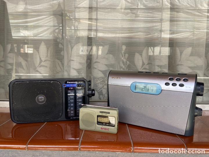Radios antiguas: LOTE 6 RADIOS (SONY, SANYO, PANASONIC, PHILIPS) - Foto 8 - 203294327