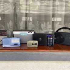 Radios antiguas: LOTE 6 RADIOS (SONY, SANYO, PANASONIC, PHILIPS). Lote 203294327