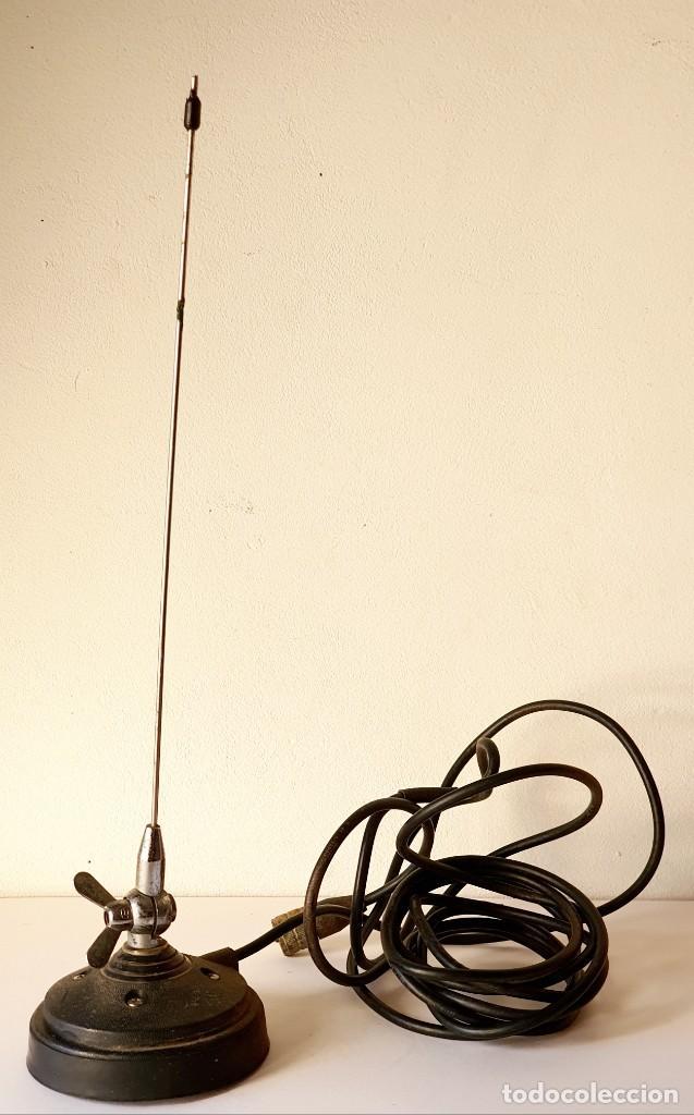 ANTENA RADIO AFICIONADO 2 METROS *** BASE IMANTADA (Radios, Gramófonos, Grabadoras y Otros - Radioaficionados)