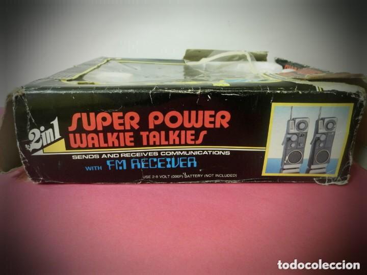 Radios antiguas: Walkie-talkie, súper power años 70/80 - Foto 3 - 204150157