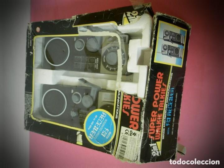 Radios antiguas: Walkie-talkie, súper power años 70/80 - Foto 4 - 204150157