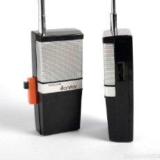 Radios antiguas: RADIOTELEFONO SONITOY. AÑOS 70. EN CAJA. FUNCIONAN. Lote 205780093
