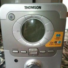 Radios antiguas: CADENA DE MUSICA THOMSON CON LECTOR DE CD, RADIO, RELOG, PANTALLA LCD. Lote 207038180