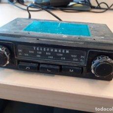 Radios antiguas: RADIO TELEFUNKEN AÑOS 70 PARA COCHE CLÁSICO. Lote 207912957