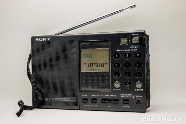 MULTIBANDAS SONY ICF- SW7600 (Radios, Gramófonos, Grabadoras y Otros - Radioaficionados)