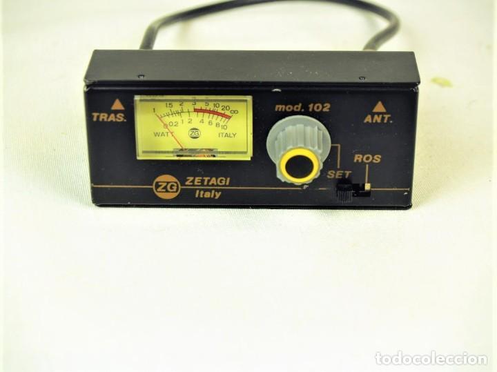 MEDIDOR DE ESTACIONARIAS ZETAGI MOD 102 (Radios, Gramófonos, Grabadoras y Otros - Radioaficionados)
