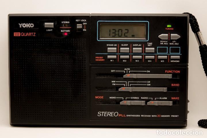 Radios antiguas: RADIO MULTIBANDAS VINTAGE DE 1990 - Foto 2 - 214812593