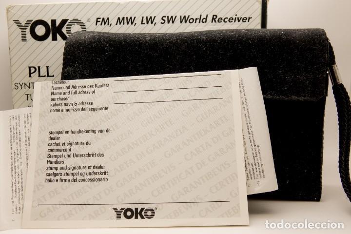 Radios antiguas: RADIO MULTIBANDAS VINTAGE DE 1990 - Foto 9 - 214812593