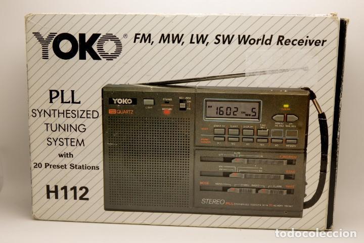 Radios antiguas: RADIO MULTIBANDAS VINTAGE DE 1990 - Foto 11 - 214812593