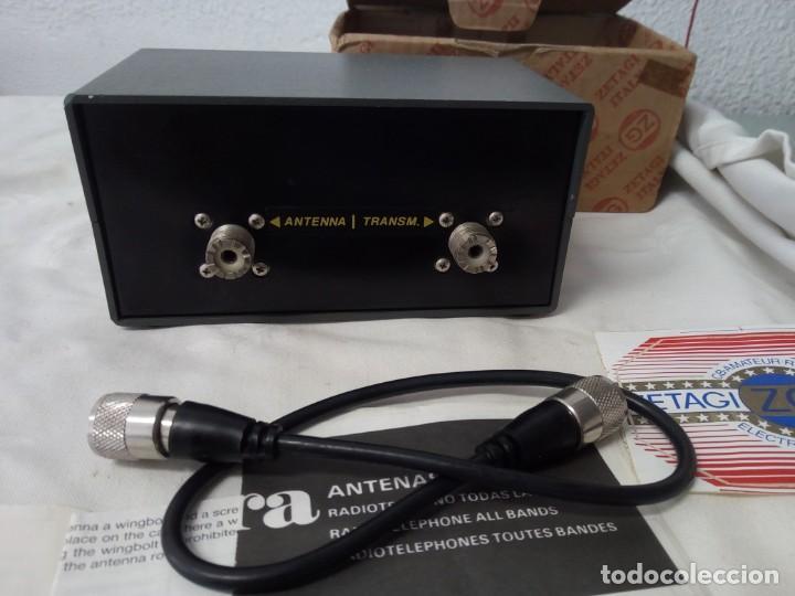 Radios antiguas: MEDIDOR DE POTENCIA RADIO ZETAIG MOD.430 - Foto 2 - 214903105