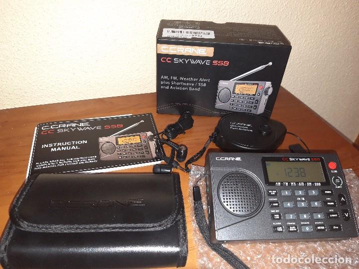 RADIO DSP C CRANE SKYWAVE SSB, MUY POCO USO, MUY PARECIDA A LA XHDATA D-808 (Radios, Gramófonos, Grabadoras y Otros - Radioaficionados)