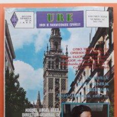 Radios antiguas: REVISTA 342 URE UNIÓN DE RADIOAFICIONADOS ESPAÑOLES U.R.E. JULIO 1981. Lote 215252407