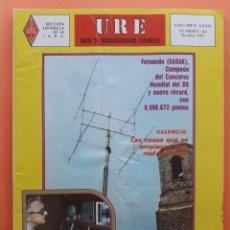 Radios antiguas: REVISTA 344 URE UNIÓN DE RADIOAFICIONADOS ESPAÑOLES U.R.E. OCTUBRE 1981. Lote 215252518