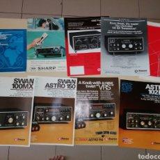 Radios antiguas: LOTE DE CATÁLOGOS EMISORAS Y COMPONENTES RADIOAFICIONADO. Lote 215253506