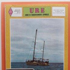 Radios antiguas: REVISTA 354 URE UNIÓN DE RADIOAFICIONADOS ESPAÑOLES U.R.E. AGOSTO SEPTIEMBRE 1982. Lote 215254191