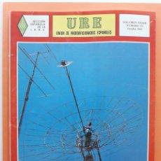 Radios antiguas: REVISTA 355 URE UNIÓN DE RADIOAFICIONADOS ESPAÑOLES U.R.E. OCTUBRE 1982. Lote 215256875
