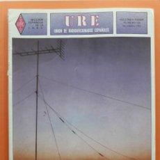 Radios antiguas: REVISTA 356 URE UNIÓN DE RADIOAFICIONADOS ESPAÑOLES U.R.E. NOVIEMBRE 1982. Lote 215256971