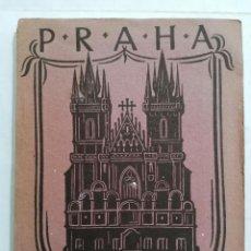 Radios antiguas: PRAGA GUIA PRACTICA, AÑO 1924, 114 PAGINAS Y PLANO DEL CENTRO DE LA CIUDAD. Lote 217412831