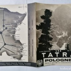 Radio antiche: TATRA - POLONIA, AÑOS 30, 20 PAGINAS, EDICION DEL MINISTERIO DE COMUNICACIONES,ESCRITO EN FRANCES. Lote 217455957