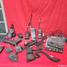 Radios antiguas: LOTE DE EMISORAS Y WALKIE DE LA POLICIA. Lote 217785278