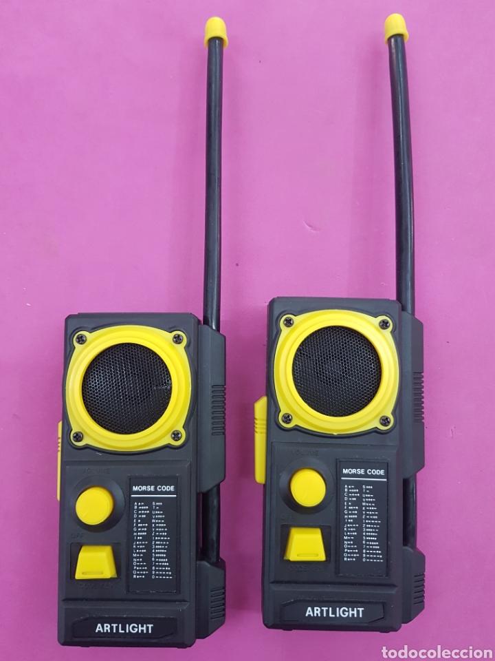 Radios antiguas: Walkie Talkies modelo AL -203 años.1980 - Foto 3 - 218193691