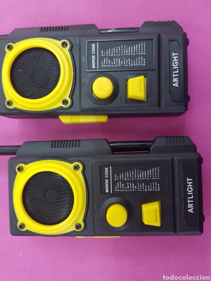 Radios antiguas: Walkie Talkies modelo AL -203 años.1980 - Foto 4 - 218193691