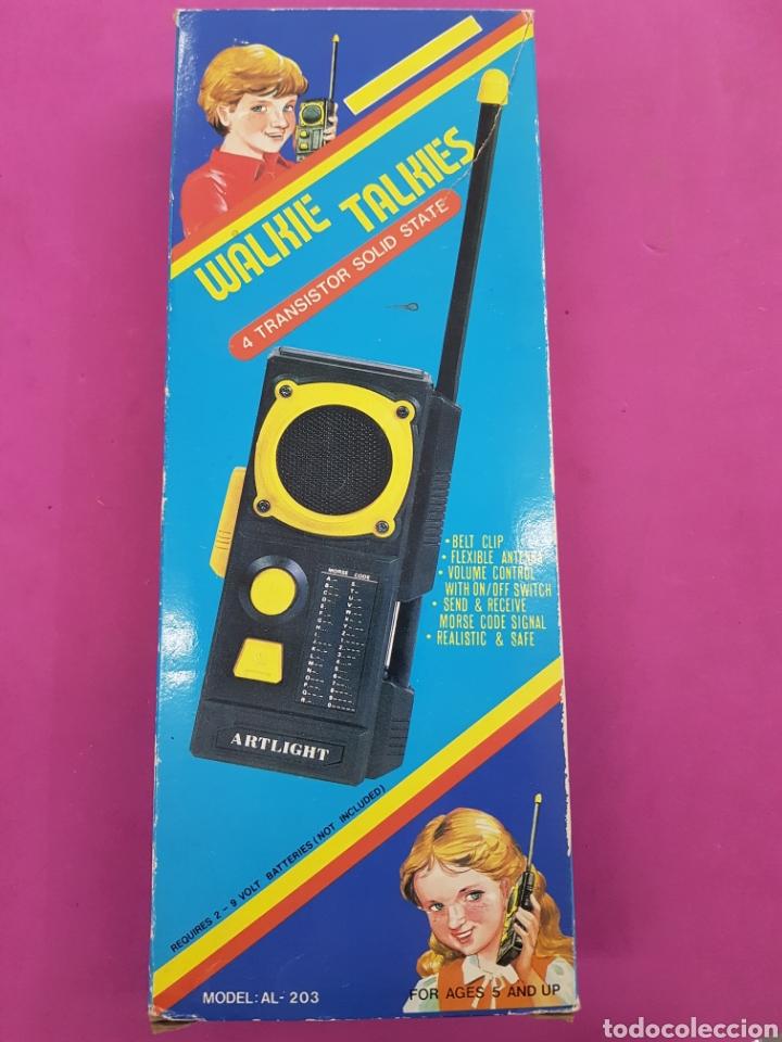WALKIE TALKIES MODELO AL -203 AÑOS.1980 (Radios, Gramófonos, Grabadoras y Otros - Radioaficionados)
