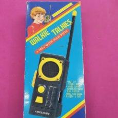 Radios antiguas: WALKIE TALKIES MODELO AL -203 AÑOS.1980. Lote 218193691