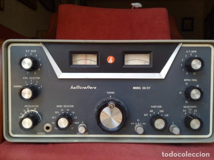 RECEPTOR RADIO HALLICRAFTERS SX 117 (Radios, Gramófonos, Grabadoras y Otros - Radioaficionados)