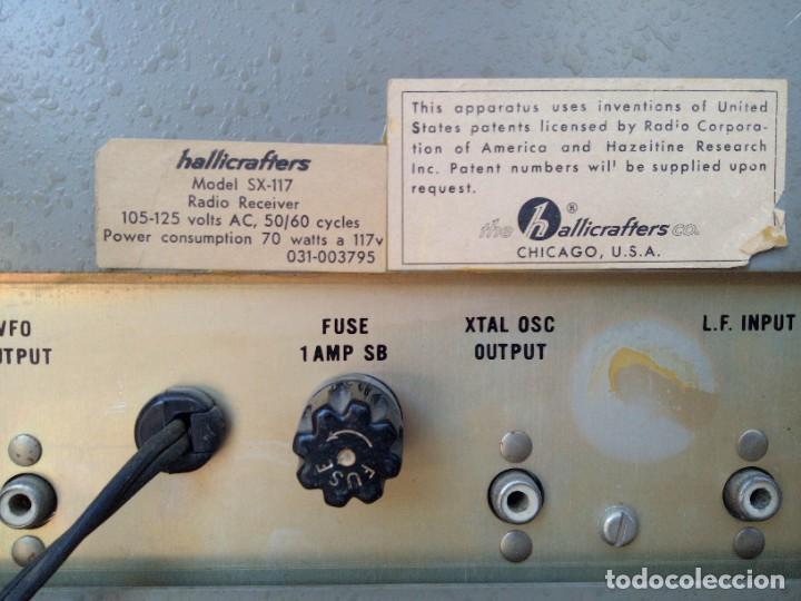 Radios antiguas: Receptor radio Hallicrafters sx 117 - Foto 2 - 218257003