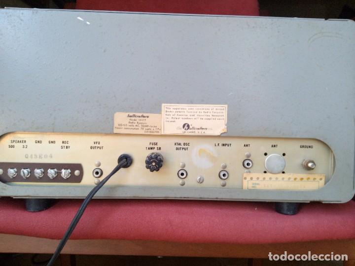Radios antiguas: Receptor radio Hallicrafters sx 117 - Foto 3 - 218257003