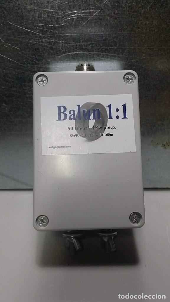 BALUN O CHOKE 1:1 - 2KW (Radios, Gramófonos, Grabadoras y Otros - Radioaficionados)