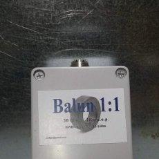 Radios antiguas: BALUN O CHOKE 1:1 - 2KW. Lote 218264522