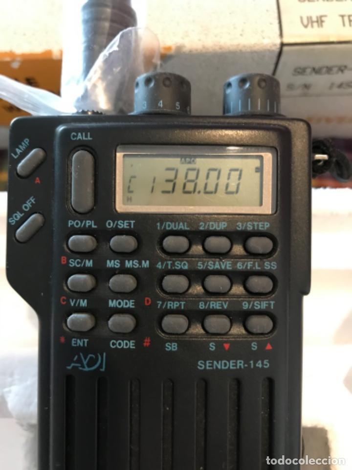 Radios antiguas: Dos estaciónes de radio ADI Sender-145 - Foto 4 - 221501457
