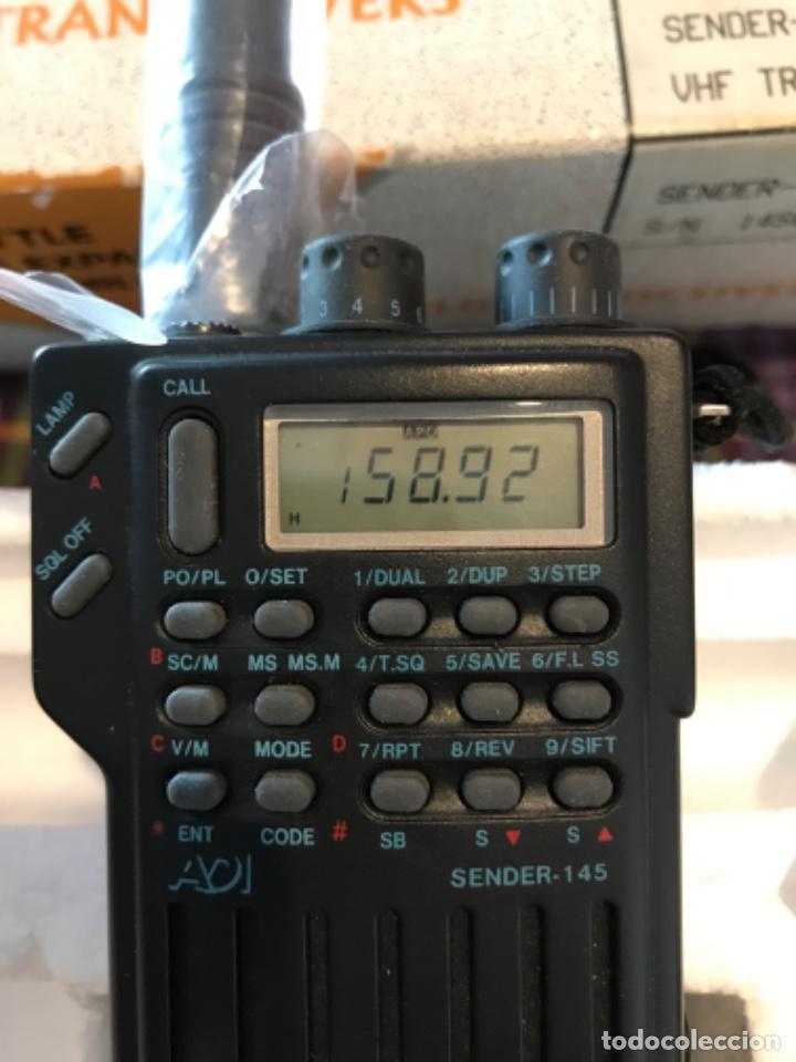 Radios antiguas: Dos estaciónes de radio ADI Sender-145 - Foto 5 - 221501457
