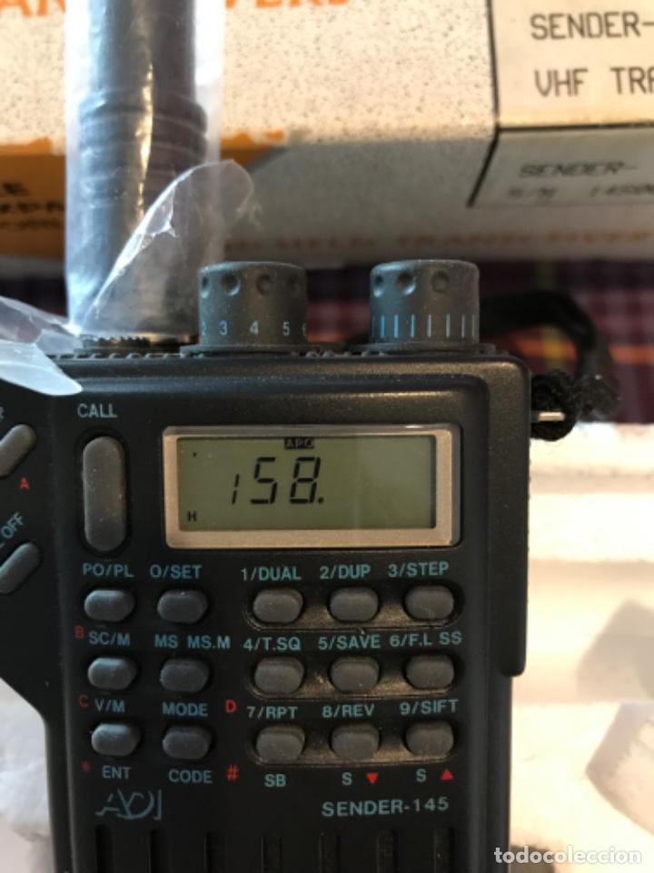 Radios antiguas: Dos estaciónes de radio ADI Sender-145 - Foto 8 - 221501457