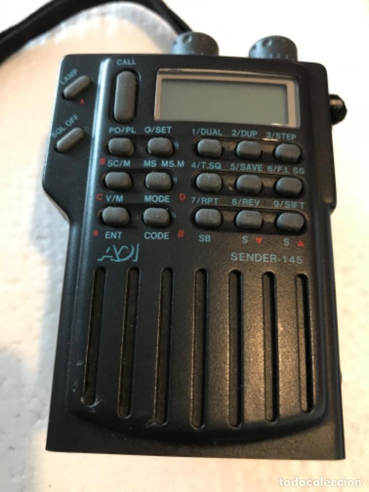 Radios antiguas: Dos estaciónes de radio ADI Sender-145 - Foto 12 - 221501457