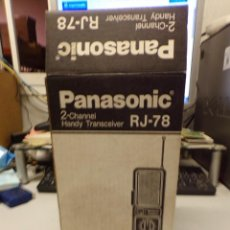 Radios antiguas: WALKIE-TALKIE NATIONAL PANASONIC RJ-78. Lote 221694690