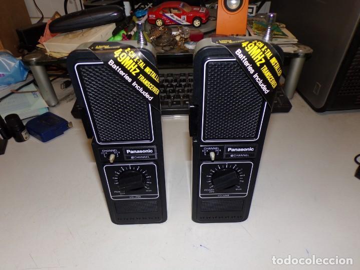 Radios antiguas: WALKIE-TALKIE NATIONAL PANASONIC RJ-78 - Foto 3 - 221694690