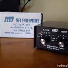 Radios antiguas: PRESELECTOR PASIVO ANTENA PARA RECEPTORES MFJ-956, APENAS SE HA USADO, COMO NUEVO. Lote 222098291