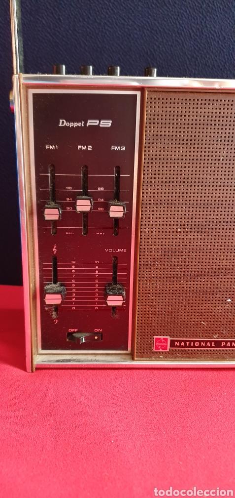 Radios antiguas: ANTIGUO RADIO NACIONAL PANASONIC VA CON PILAS . NO ESTA PROBADO - Foto 2 - 222243131