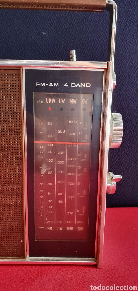 Radios antiguas: ANTIGUO RADIO NACIONAL PANASONIC VA CON PILAS . NO ESTA PROBADO - Foto 3 - 222243131