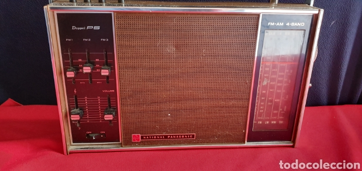 Radios antiguas: ANTIGUO RADIO NACIONAL PANASONIC VA CON PILAS . NO ESTA PROBADO - Foto 4 - 222243131