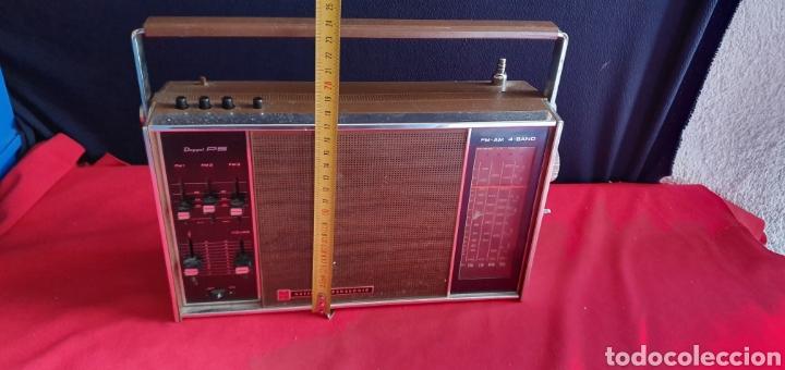 Radios antiguas: ANTIGUO RADIO NACIONAL PANASONIC VA CON PILAS . NO ESTA PROBADO - Foto 11 - 222243131
