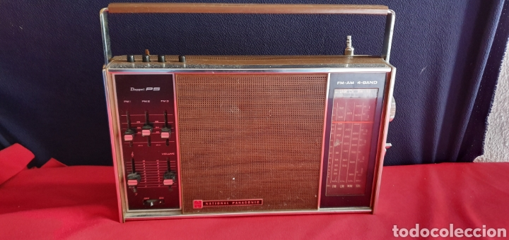 ANTIGUO RADIO NACIONAL PANASONIC VA CON PILAS . NO ESTA PROBADO (Radios, Gramófonos, Grabadoras y Otros - Radioaficionados)